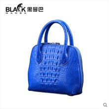 heimanba Crocodile skin bag female shell leather large capacity banquet crocodile handbag women