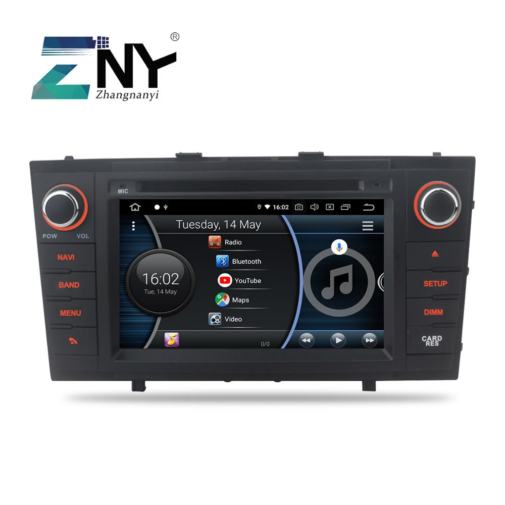 7 Toyota Avensis T27 용 Android 9.0 차량용 DVD 2009 2010 2011 2012 2013 2014 2015 자동 라디오 FM WiFi GPS 네비게이션 백업 카메라 image