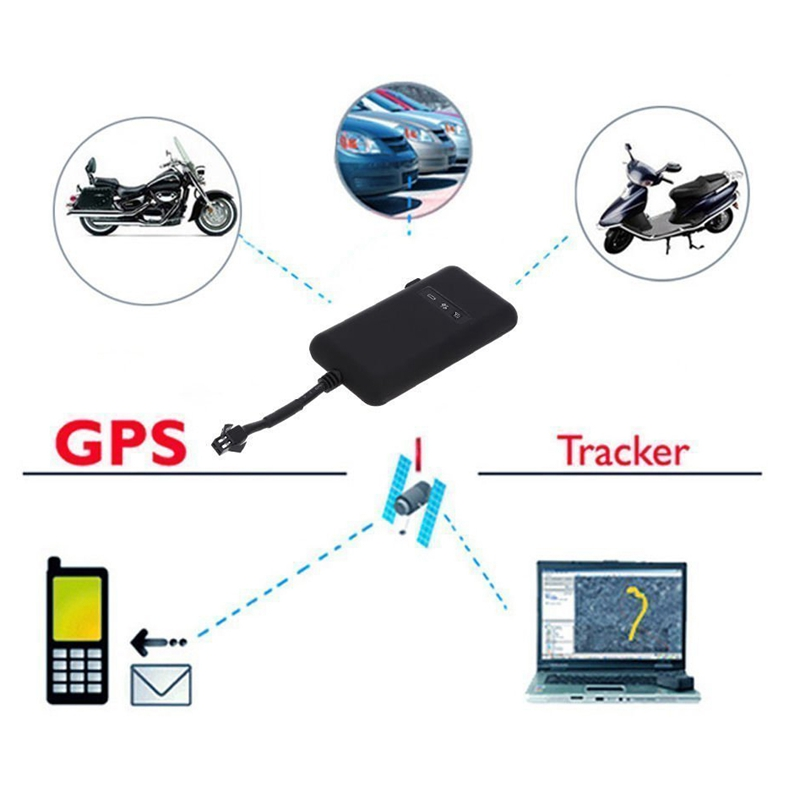 <font><b>GT02A</b></font> <font><b>GPS</b></font> Tracker Real Time <font><b>GPS</b></font> Tracking Vehicle Locator <font><b>GPS</b></font>/GSM/GPRS/SMS Tracker Antitheft Car Motorcycle Bike image