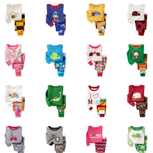 Children Sleepwear Nightwear Pyjamas Animal Girls Kids Boys Cotton