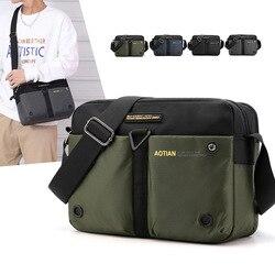 Нейлоновые сумки через плечо Weysfor, мужская повседневная дорожная водонепроницаемая сумка на одно плечо, мужские сумки-слинг через плечо, му...
