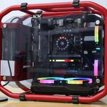 Rack Case-Frame ITX Pc-Chassis Mid-Tower Computer-Gaming-Case Desktop Open MATX Water-Cooler
