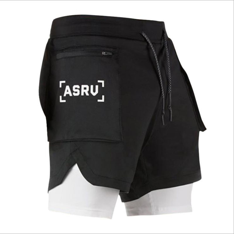 2020 New Color Summer Running Shorts Men 2 In 1 Sports Jogging Fitness Shorts Training Quick Dry Mens Men Shorts Sport