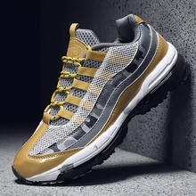 Air Sole Cushioning Running Shoes Traing Breathable Outdoor Sneakers Men Non-Slip Sports Jogging Trainers Walking