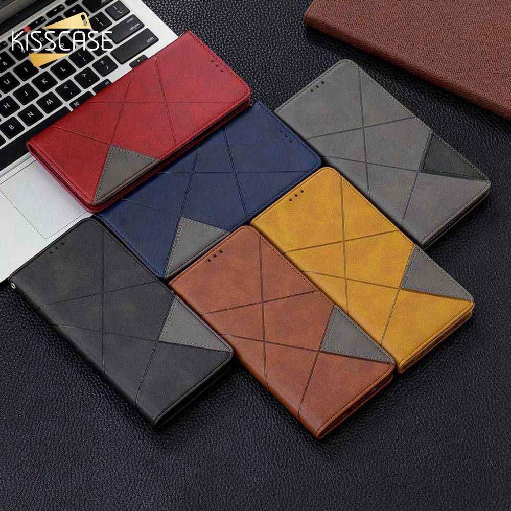 KISSCASE Business Leder Fall Für iPhone 7 8 6 6S Plus 11 Magnetische Stand Flip Handy Tasche Abdeckung Für iPhone 7 8 X XS Fall Stehen