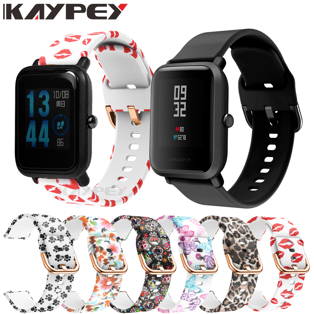 Belt Bracelet Watch Strap Smartwatch Silicone-Band Soft-Rubber Amazfit Bip for Xiaomi