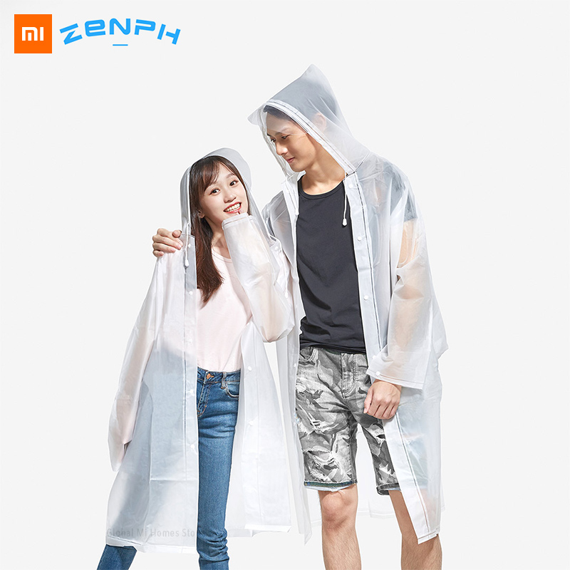 Xiaomi Youpin Zaofeng Waterproof Windproof Foldable Raincoat With Enlarged Eaves Light Weight Raincoat Gender-specific L XL