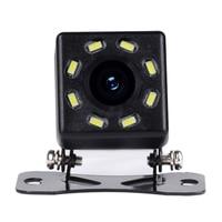 ir led Car Rear View Camera 4 LED Night Vision Reversing Auto Parking Monitor CCD Waterproof Degree IR HD Video Universal Backup Camera (3)