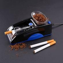 1pc elektryczna łatwa automatyczna maszyna do zwijania papierosów nabijarka do tytoniu Maker Roller ue wtyczka Convinience i zdrowie dla pelper tanie tanio CN (pochodzenie)