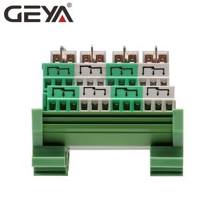 Image 4 - GEYA 2NG2R 4 قناة أومرون وحدة التتابع 2NO 2NC الإلكترونية DPDT التبديل 12 فولت 24 فولت مجلس التتابع