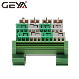 Image 4 - GEYA 2NG2R 4 Channel Omron Relay Module 2NO 2NC Electronic DPDT Switch 12V 24V Relay Board