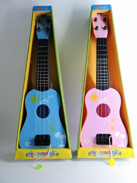 Burst Large Size New Style Double Color Guitar Children Music Guitar Violin Toy Hot Selling