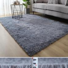 Fluffy Carpet Bedside-Mat Play-Mats Sofa Shaggy-Rug Balcony Bedroom Home-Decor Silky