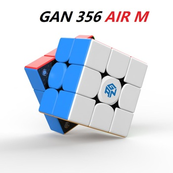 2020 GAN 356 AIR M Magnetic 3x3x3 magic cube GAN356 Speed Puzzle Cube cubo magico Toys - discount item  20% OFF Games And Puzzles