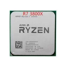 Amd ryzen 7 3800x r7 3800x 3.9 ghz otto-núcleo sedici-thread di cpu processore 7nm l3 = 32m am4