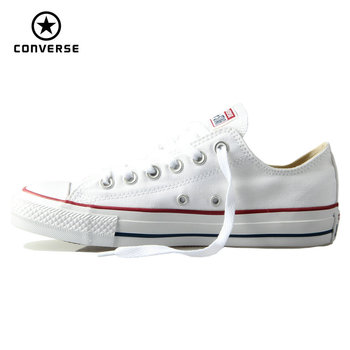 Original Converse classic all star canvas shoes men and women sneakers low classic Skateboarding Shoes 4 color original new arrival 2017 converse men s skateboarding shoes leather sneakers