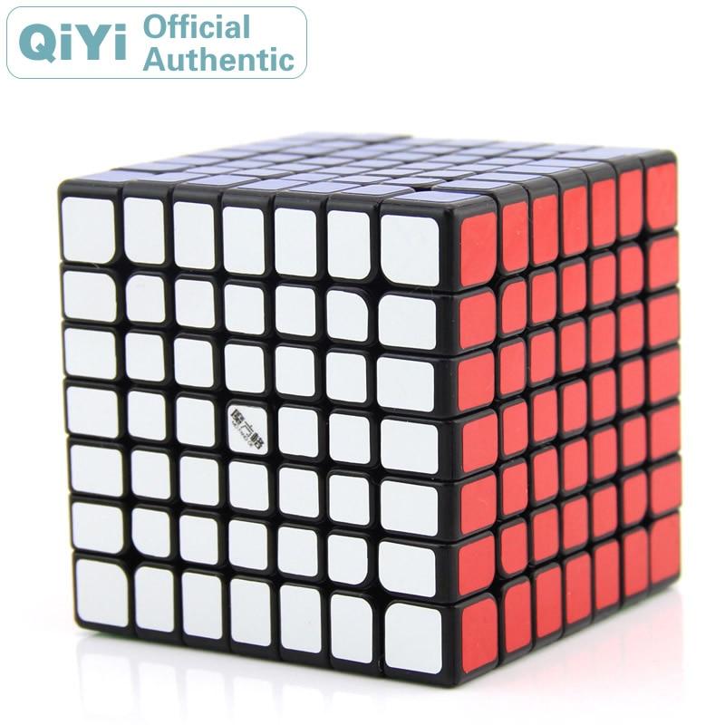 QiYi Wuji 7x7x7 Magic Cube MoFangGe XMD 7x7 Cubo Magico Professional Speed Neo Cube Puzzle Kostka Antistress Toys Boy