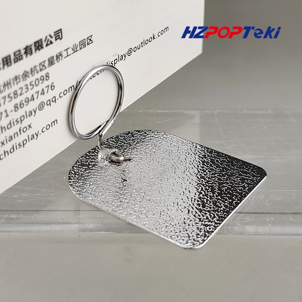 Mini Metal POP Merchandise Sign Signage Paper Card Price Promotion Display Label Small Clips Holders By Matt In Shop 3000pcs