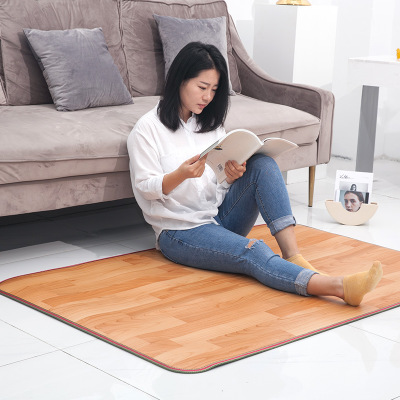 Heating Foot Mat Warmer 50*30cm Electric Blanket Heating Pads Feet Leg Warmer Carpet Thermostat Warming Tools Home Office