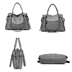 Image 5 - Yonder Brand fashion women handbags female Crossbody shoulder bags for women 2020 luxury handbag leather gray hand bags ladies