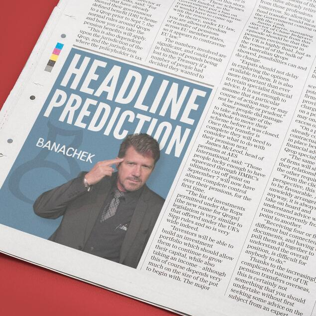 2017 Headline Prediction By Banachek-Magic Tricks