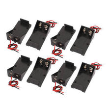 5 шт/компл 2 провода 9 в держатель аккумулятора с винтовым креплением