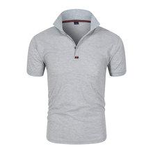 Деловая элитная мужская рубашка поло брендовая модная Повседневная