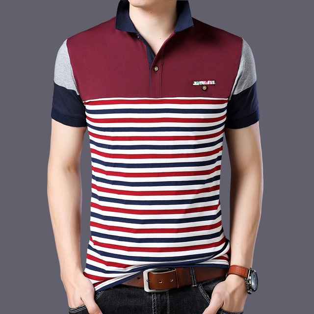Casual 23 Design Style Brand 95% Cotton Summer POLO SHIRT Short Sleeves Men Fashion Plus Size M-5XL 6XL Tops Tees Clothes 3