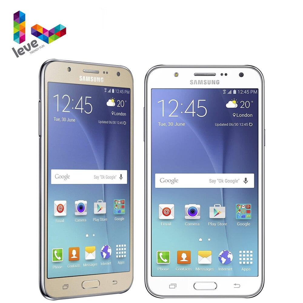 "Original desbloqueado Samsung Galaxy J7 SM-J700F Dual SIM teléfono móvil 1,5 GB RAM 16GB ROM 5,5 ""Octa Core 13.0MP 4G LTE Smartphone"