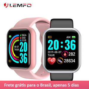 LEMFO 2020 Smart Watch Women Heart Rate Monitor Waterrpoof Smartwatch Men Fitness Tracker For IOS Android iPhone