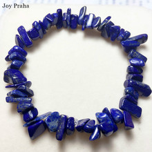 Natural crystal afghan lapis bracelet / Crushed stone bracelets lucky transport Jewelry wholesale dropshipping