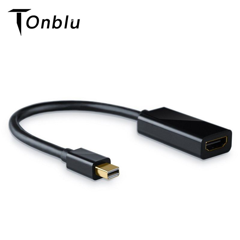 <font><b>Mini</b></font> DP <font><b>To</b></font> <font><b>HDMI</b></font> <font><b>Adapter</b></font> Cable Male <font><b>to</b></font> Female <font><b>Mini</b></font> Display Port <font><b>to</b></font> <font><b>HDMI</b></font> Audio Converter For Apple Mac Macbook Pro Air image