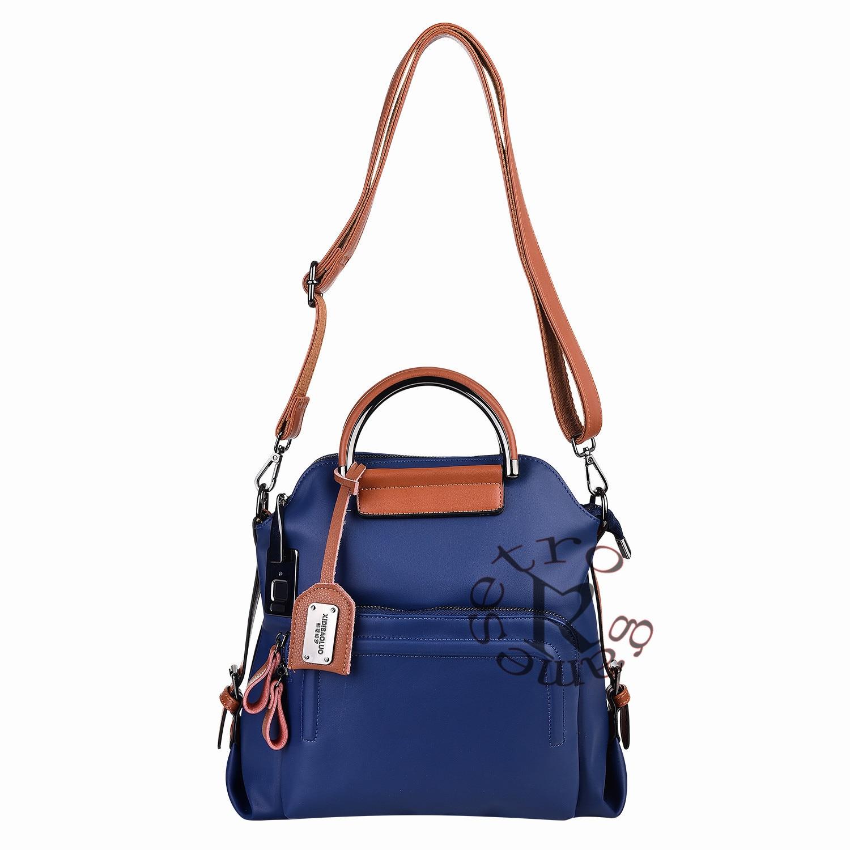 Модная сумка для женщин Anytek L25 сумка с отпечатком пальца Блокировка Путешествия Туризм Противоугонная Зарядка порт 40 отпечатков пальцев