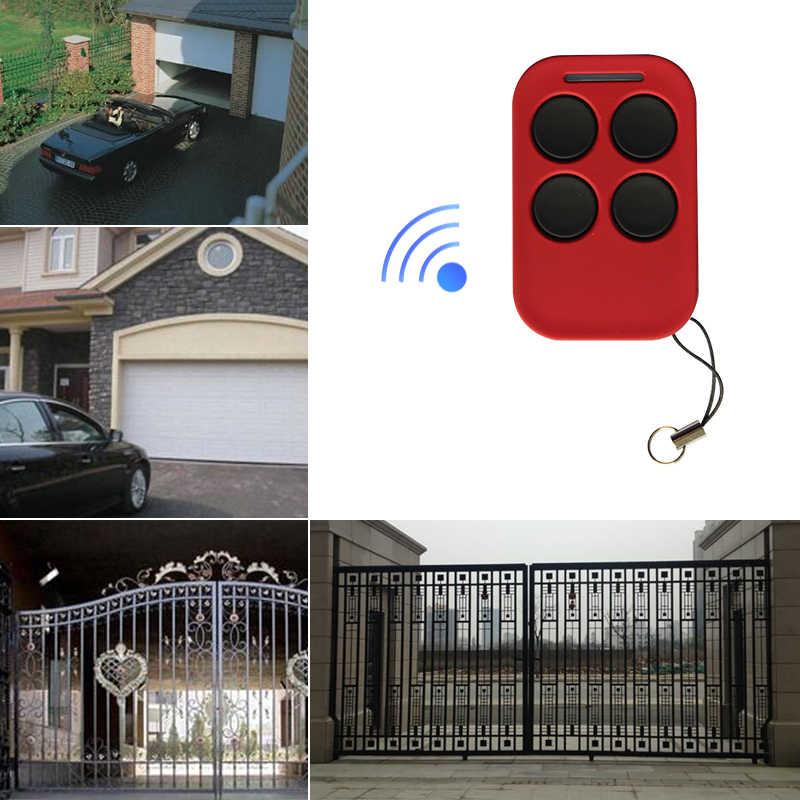Four Door Button Type Multi Function Remote Control Garage Door Shutter Door Face To Face Copy Direct Copy Remote Control Door Remote Control Aliexpress