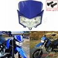 Двойная фара для мотокросса и мотоцикла  фара для Kawasaki KLX250 08-19 KLX250S D-Tracker X 250 09-19 KLX250SF 09-10