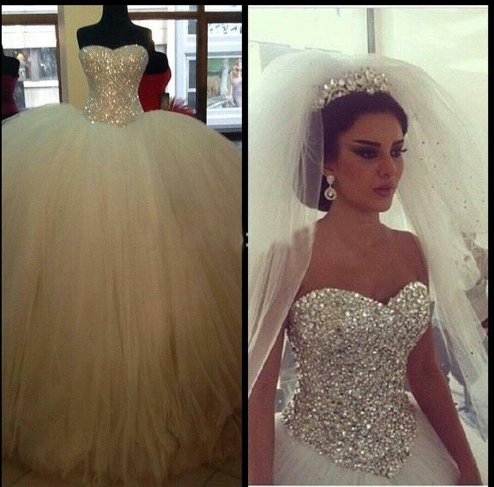 Vintage Actual Image Wedding Dress 2016 Cheap Ball Gown Casamento Bridal Wedding Dress Gowns Vestido De Noiva Custom Make