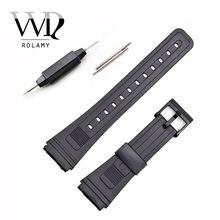 Ремешок для часов rolamy 20 мм силиконовый резиновый ремешок