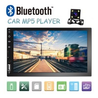 2 DIN car radio Mirror Link (for Android phones) capacitive touch screen 7MP5 Bluetooth USB TF FM Camera Multimedia Player 2din