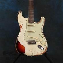 Электрическая гитара hot relics by hands высококачественные