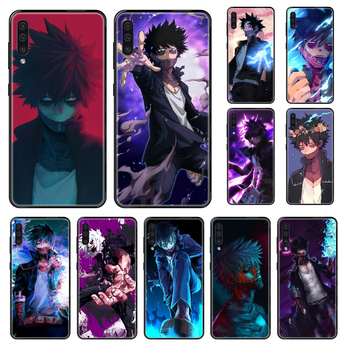 Anime My Hero Academia Dabi Phone case For Samsung Galaxy A 3 5 8 9 10 20 30 40 50 70 E S Plus 2016 2017 2018 2019 black image