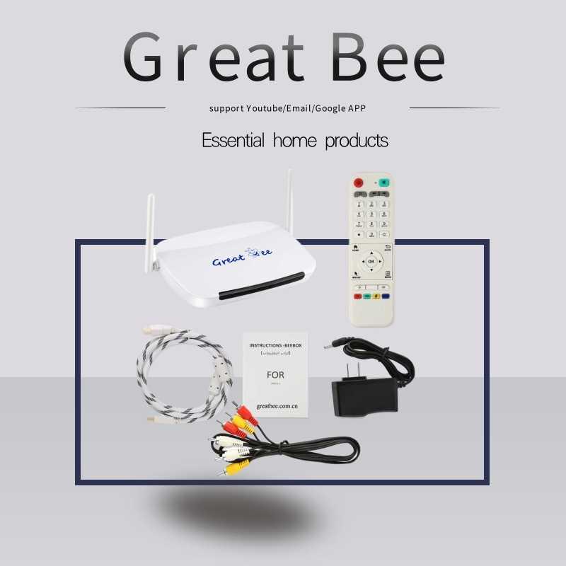 2020 en iyi arapça kutusu için IPTV, büyük arı desteği Youtube/film/e-posta ve benzeri, ücretsiz kargo
