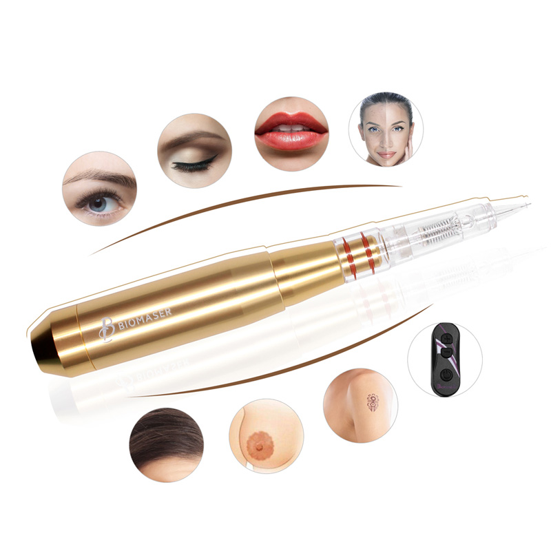 Biomaser E003 Permanent MakeUp Machine Pen Kit For Eyebrows Tattoo Pen With Speed Control Device +1 Cartridges Needles