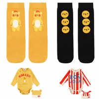 2019 coreano bebé Otoño Invierno tubo calcetines Encantadores Niños niños niñas rodilla calcetines marca infantil oso Moddle calcetines Bebe de