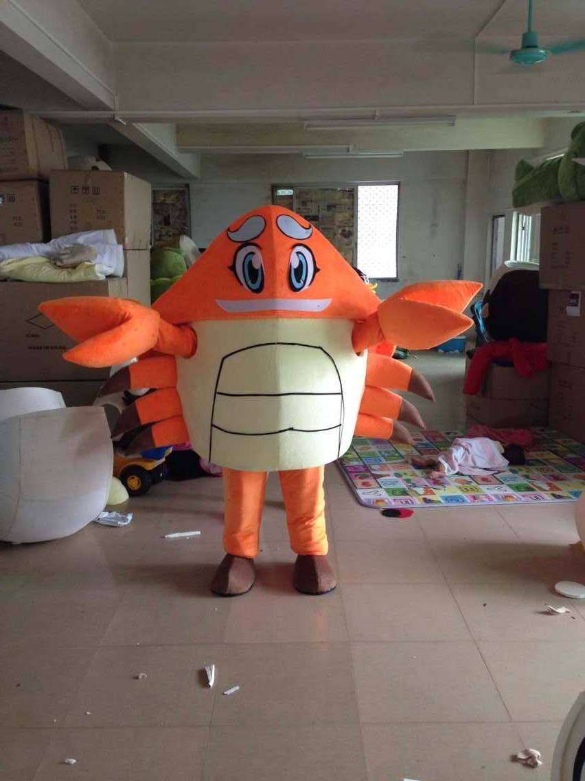 New Arrival customized special crab doll Mascot Costume Adult Halloween Birthday party cartoon Apparel Cosplay Costumes