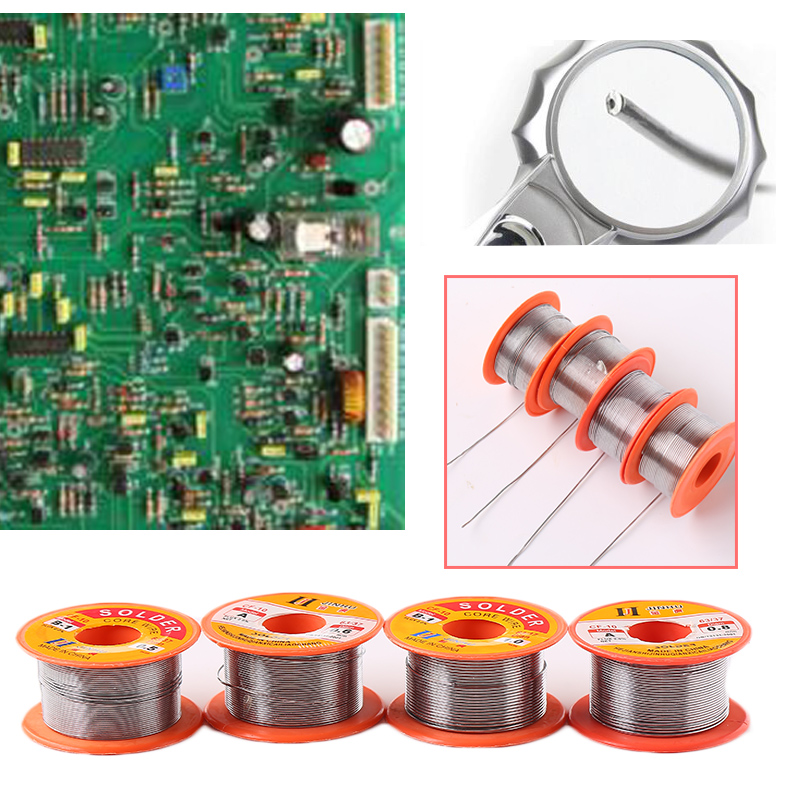 Tin Wire Solder Tin Lead Welding No-Clean 0.5mm 0.6mm 0.8mm 1.0mm Reel Electronics 1Roll Iron Lines Tool