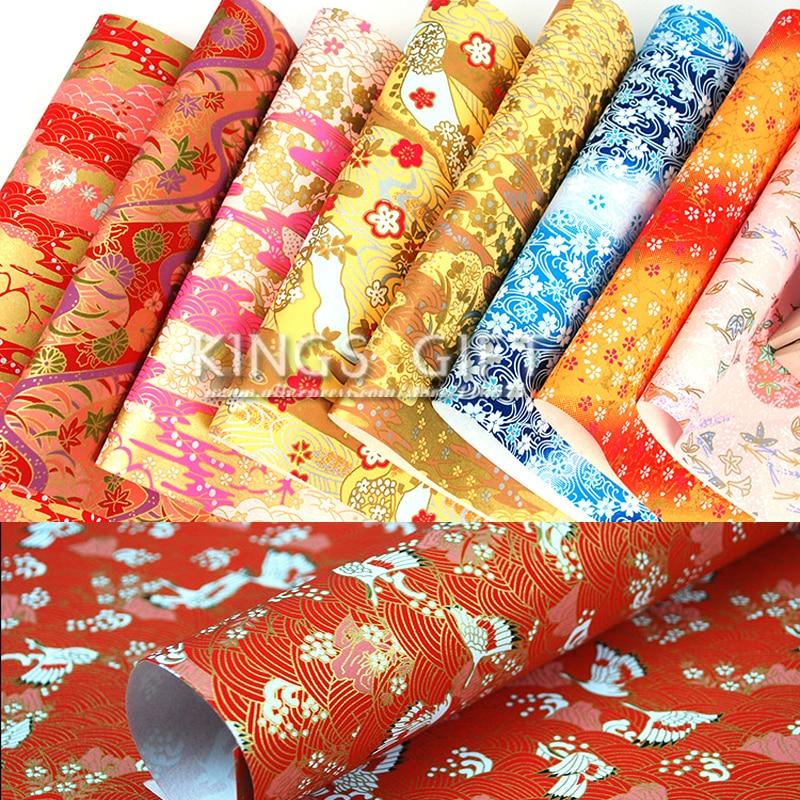 Hârtie japoneză de dimensiuni mari, hârtie de bricolaj pentru meșteșuguri artizanale pliabile de hârtie de ambalare cadou de hârtie Washi pentru arte de bricolaj