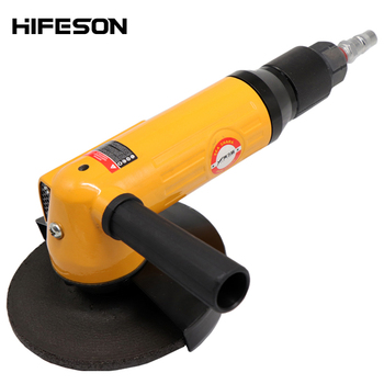 5.0 inch Pneumatic Angle Grinder Machine Air Chamfering Grinding Tools