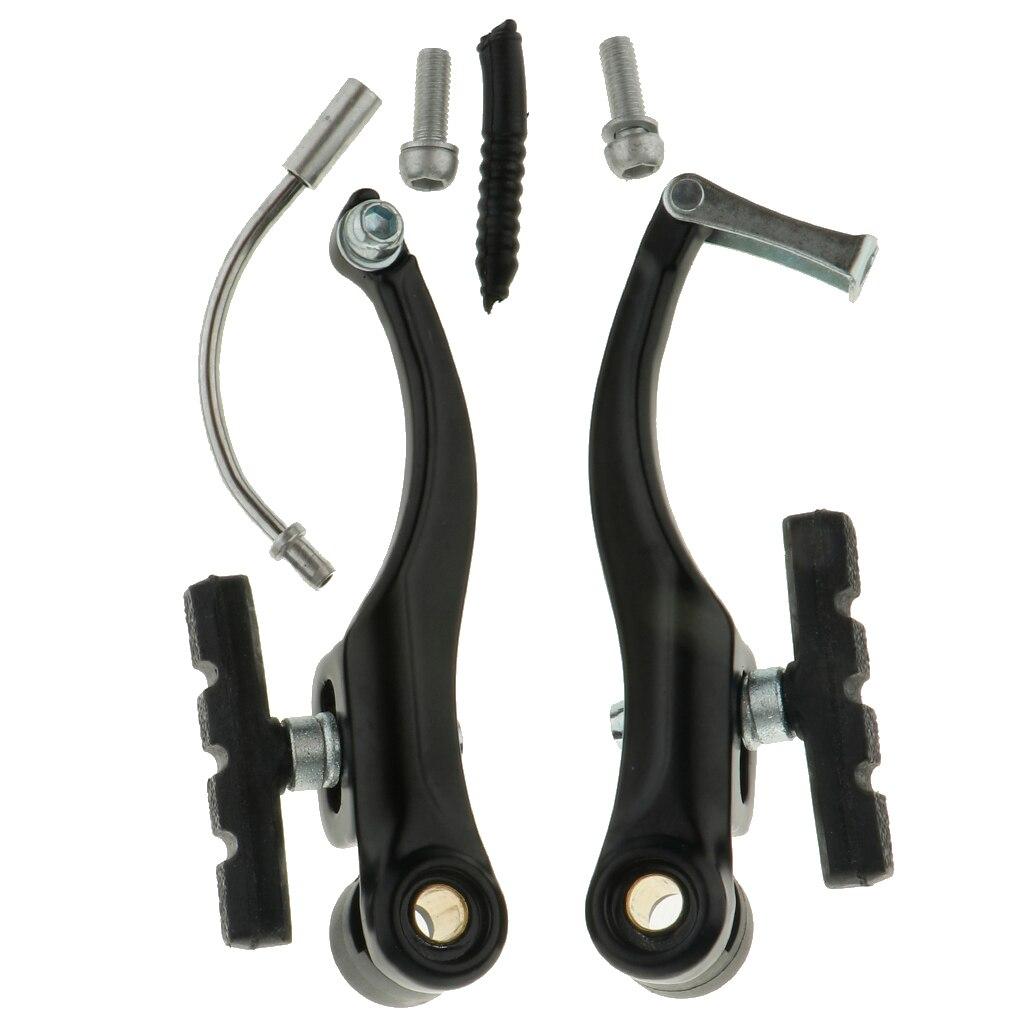 2pc//Set Durable Bike Bicycle Cycling MTB V-Brake Aluminum Brake Pipe Noodle Boot