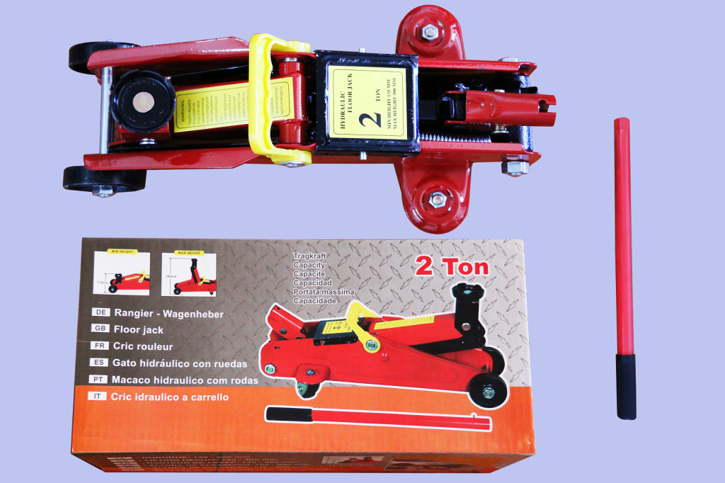 2T Horizontal Lifting Jack Car Only Changing Tire Manufacturers Direct Selling 2 Tons