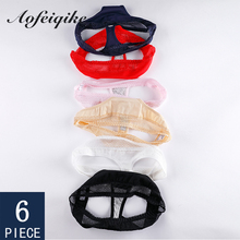 Cotton Panties For Woman Underwear 6 Pcs Thong G-string Female T-back Sports Sexy